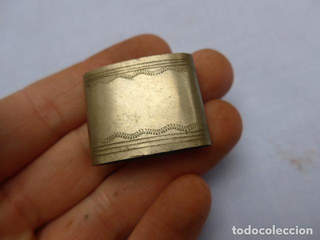 Militaria: * Antiguo lote de complementos de funda o vaina de espada, originales. ZX - Foto 2 - 188838963