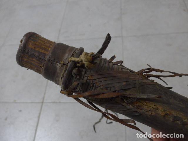 Militaria: Antiguo carcaj de arco y flechas de tribu africana, africa, original. - Foto 2 - 193657312