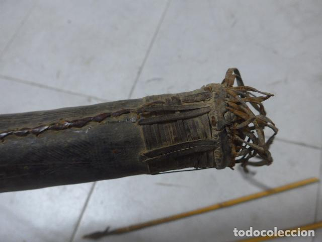 Militaria: Antiguo carcaj de arco y flechas de tribu africana, africa, original. - Foto 5 - 193657650
