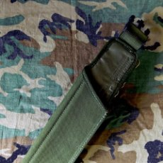 Militaria: FUNDA BAYONETA REGLAMENTARIA, VAINA DE RANA, EJERCITO BRITANICO - SA 80 - 1991 - NUEVA - ÚNICA. Lote 196809545