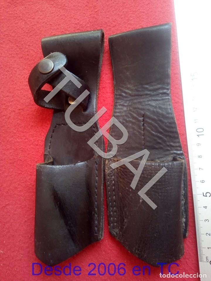 TUBAL 2 FUNDAS PARA DEFENSA PERSONAL CJ3 (Militar - Complementos Para Armas Blancas)