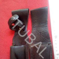 Militaria: TUBAL 2 FUNDAS PARA DEFENSA PERSONAL CJ3. Lote 205576817