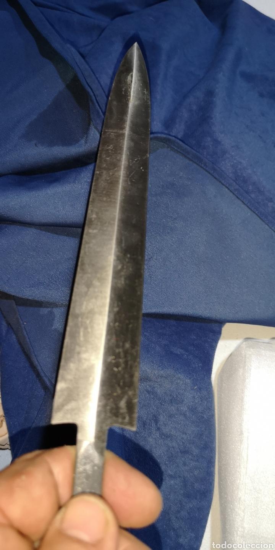 Militaria: Hoja para daga de las SS o las SA, me imagino que será de la casa Martos - Foto 2 - 212503107