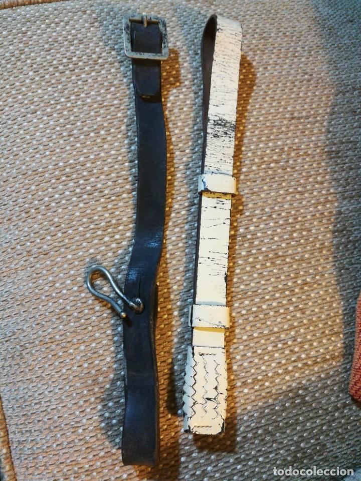 Militaria: Tirante y fiador sable o espada del ejército español - Foto 2 - 230040015