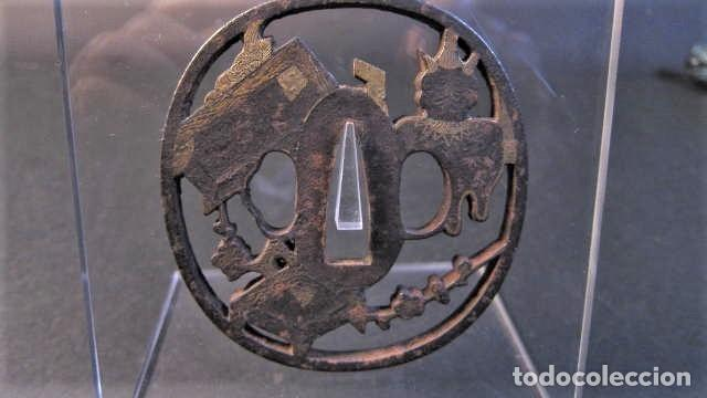 Militaria: tsuba antigua - Foto 2 - 253798590