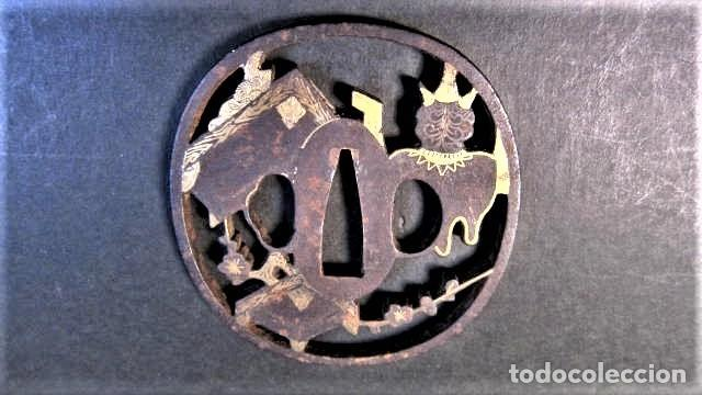 Militaria: tsuba antigua - Foto 3 - 253798590