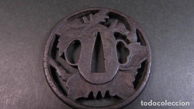 Militaria: tsuba antigua firmada - Foto 7 - 253799630