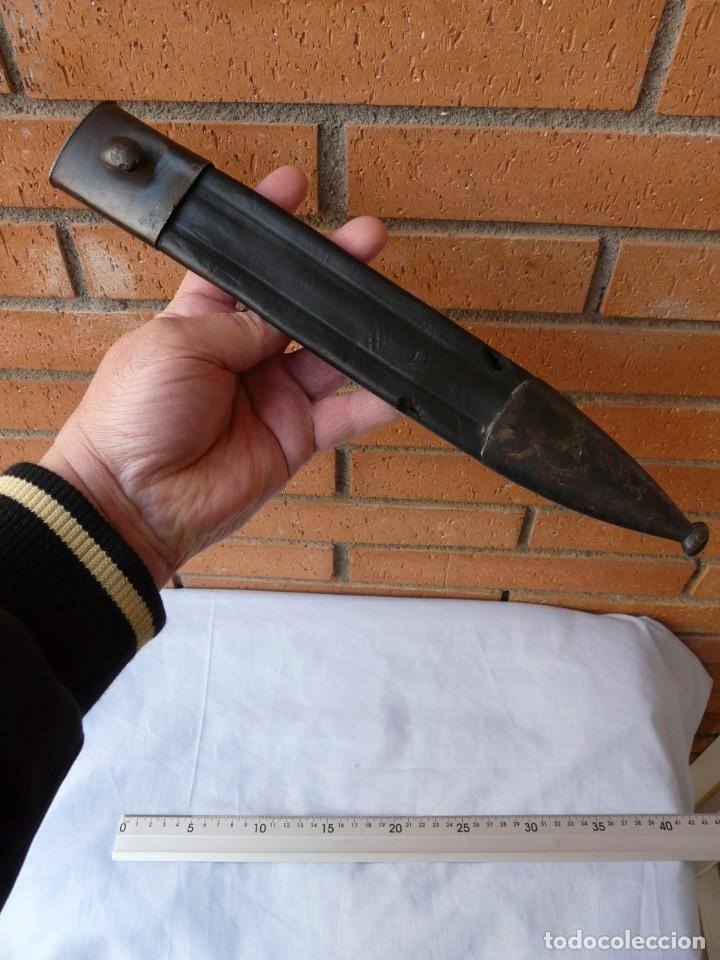 FUNDA VAINA DE CUERO PARA MACHETE 1907 (Militar - Complementos Para Armas Blancas)