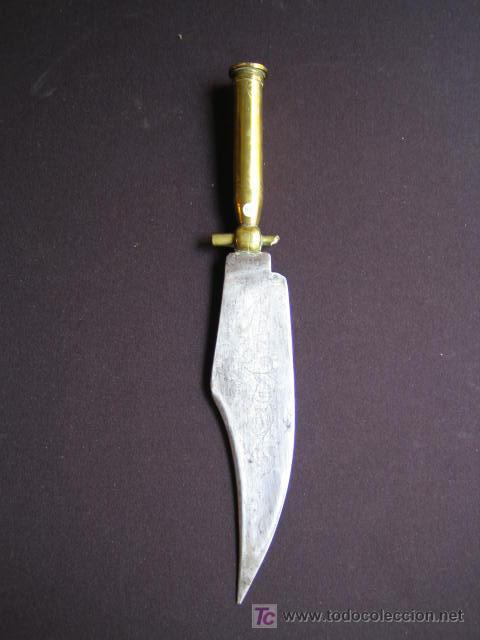 CUCHILLO ESPAÑOL S. XIX (Militar - Armas Blancas Originales Fabricadas entre 1851 y 1945)