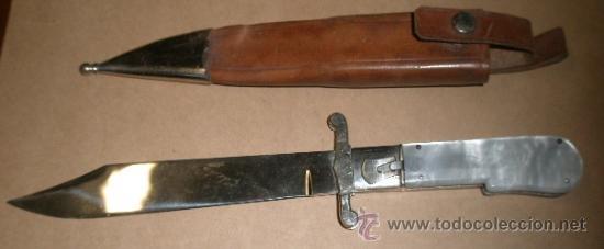 NAVAJA PLEGABLE , TOLEDO, DE 26 CMS (Militar - Armas Blancas Originales de Fabricación Posterior a 1945)