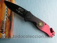 NAVAJA DE RESCATE VEHICULOS SINIESTRADOS, FIREFIGHTER MTECH KNIFE RESCUE MTECH NEW MX 8029 XT U.S.A. (Militar - Armas Blancas Originales de Fabricación Posterior a 1945)