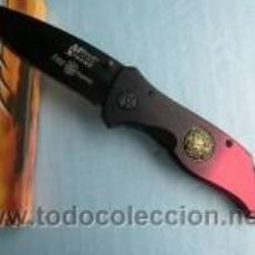 Militaria: NAVAJA DE RESCATE VEHICULOS SINIESTRADOS, FIREFIGHTER MTECH KNIFE RESCUE MTECH NEW MX 8029 XT U.S.A.. Lote 26303437