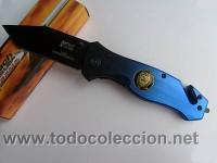 NAVAJA DE RESCATE VEHICULOS SINIESTRADOS, POLICE MTECH KNIFE RESCUE MTECH NEW MX 8029 XT U.S.A. (Militar - Armas Blancas Originales de Fabricación Posterior a 1945)