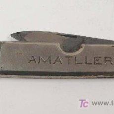 Militaria: CHOCOLATES AMATLLER, NAVAJA 9 CM CERRADA.. Lote 14220946