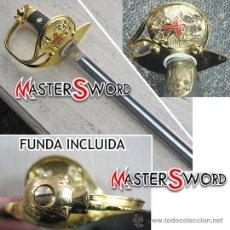 Militaria: SABLE OFICIAL EJERCITO DE TIERRA ESPAÑOL + FUNDA. 95 CMS ** GRABAMOS LA HOJA. Lote 109067227