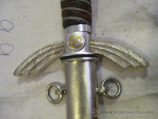 Militaria: Alemania. III Reich. Espada Alemana de Oficial de la Luftwafe. - Foto 8 - 27365099
