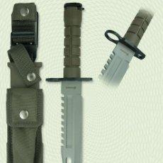 Militaria: CUCHILLO BAYONETA TACTICO SUPERVIVENCIA. Lote 50280182