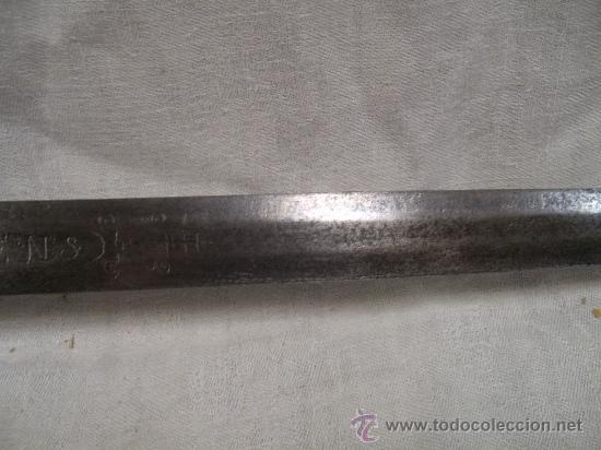 Militaria: Espada ropera con guarnición de concha. Siglo XVII /XVIII. Posiblemente fabricada en Alemania. - Foto 25 - 27970530