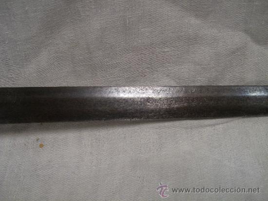 Militaria: Espada ropera con guarnición de concha. Siglo XVII /XVIII. Posiblemente fabricada en Alemania. - Foto 26 - 27970530