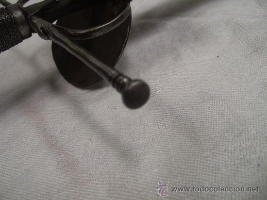 Militaria: Espada ropera con guarnición de concha. Siglo XVII /XVIII. Posiblemente fabricada en Alemania. - Foto 16 - 27970530