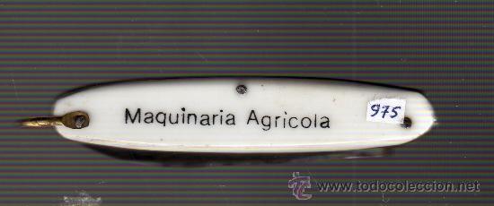 Militaria: mini navaja publicidad jubus - reus maquinaria agricola - Foto 2 - 28233048