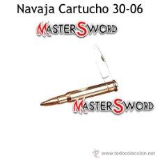Militaria: NAVAJA BALA CARTUCHO SPRINGFIELD CALIBRE 30-06. 12,5 CMS. Lote 167566350