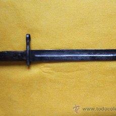 Militaria: CUCHILLO BAYONETA MODELO 1893 PARA EL FUSIL MAUSER ESPAÑOL, SIN VAINA. Lote 31830933