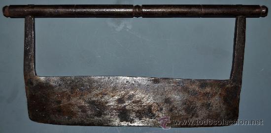 ANTIGUO TRINCHANTE EN HIERRO DEL SIGLO XVIII-XIX. (Militar - Armas Blancas Originales de Fabricación Anterior a 1850)