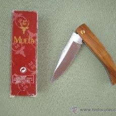 Militaria: NAVAJA DE BOLSILLO MARCA MUELA MODELO P7OL. Lote 34324972