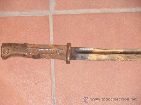 BAYONETA ALEMANA K98 (Militar - Armas Blancas Originales Fabricadas entre 1851 y 1945)
