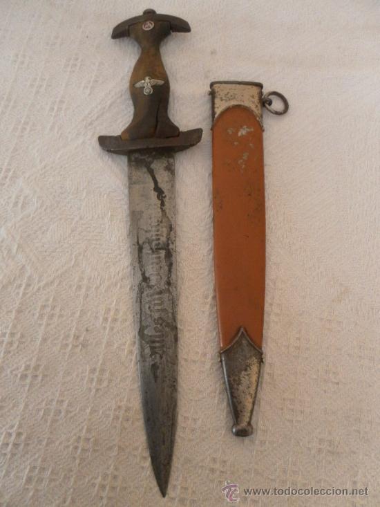 ALEMANIA. II GUERRA MUNDIAL. DAGA DE LAS SA. (Militar - Armas Blancas Originales Fabricadas entre 1851 y 1945)