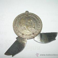 Militaria: ANTIGUA NAVAJA FABRICADA CON UNA MONEDA DE UN DURO DE FRANCO....FABRICANTE...PAYA - IBI (ALICANTE).. Lote 36141888