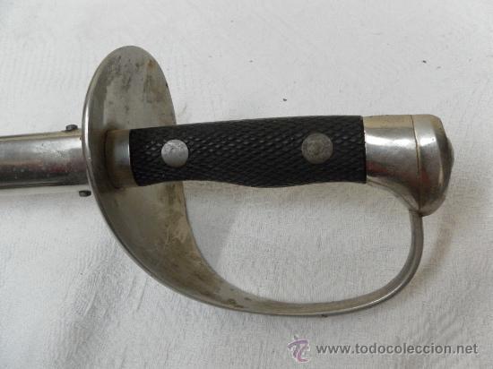Militaria: Espada-sable de Aviación Ejercito del Aire Época de Franco. Fábrica de Toledo. - Foto 6 - 36181695
