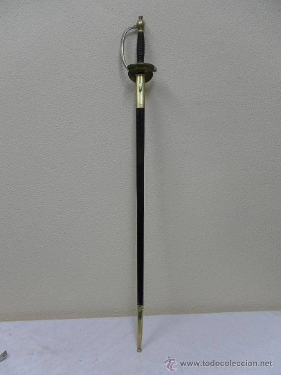 Militaria: Espada de ceñir Francesa escuela politecnica 1872 - Foto 2 - 36182416