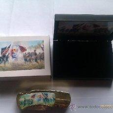 Militaria: NAVAJA GENERAL ROBERT E. LEE. BATALLA DE GETTYSBURG. EL SUR. GUERRA DE SECESIÓN NORTEAMERICANA 1861. Lote 206846481