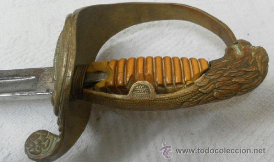 Militaria: Espada.Sable para oficial de aviación.Época de Franco - Foto 4 - 37169619