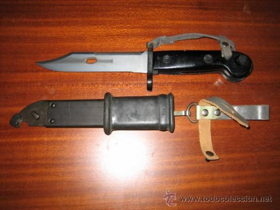 Militaria: Bayoneta AK-47 NVA - Foto 2 - 206766916