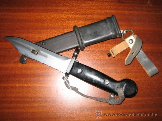 Militaria: Bayoneta AK-47 NVA - Foto 3 - 206766916