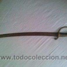 Militaria: SABLE TIPO BRIQUET MOD. 1849 ORIGINAL. Lote 39250301