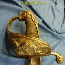 Militaria: SABLE DEL CUERPO GENERAL DE LA ARMADA. MODELO 1844, 1857. VERSIÓN ALFONSO XIII. . Lote 39366868