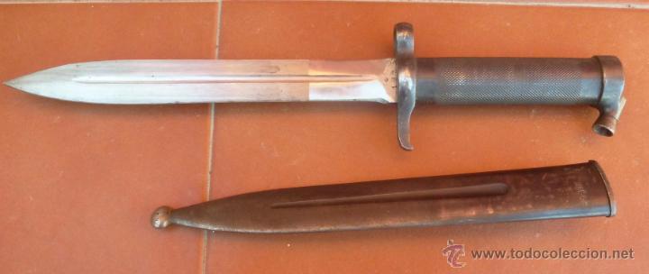 BAYONETA SUECA MOD.1896 (Militar - Armas Blancas Originales Fabricadas entre 1851 y 1945)