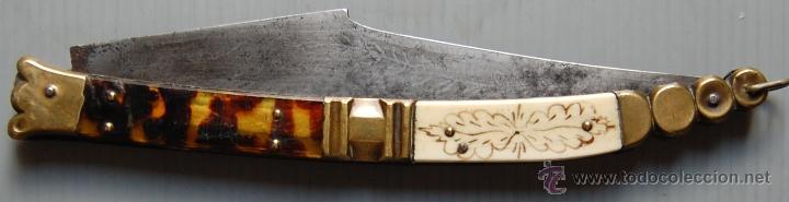 NAVAJA VIVA ESPAÑA (Militar - Armas Blancas Originales de Fabricación Anterior a 1850)