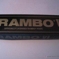Militaria: CUCHILLO RAMBO FIRST BLOOD , SERIE LIMITADA. Lote 207178965
