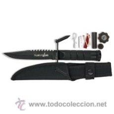 Militaria: CUCHILLO DEPORTIVO MESSER KNIVE SPORTS CON FUNDA 31888 M13. Lote 152539029