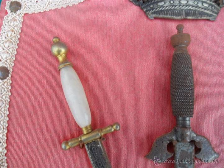 Militaria: 3 puñales pequeños - Foto 4 - 41068479