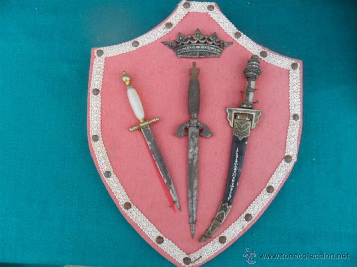 Militaria: 3 puñales pequeños - Foto 5 - 41068479