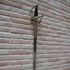 Militaria: TOLEDO / ESPADA - REPLICA ANTIGUA DE LA ESPADA COLADA DEL CID- SIGLO XI.. Lote 45368239