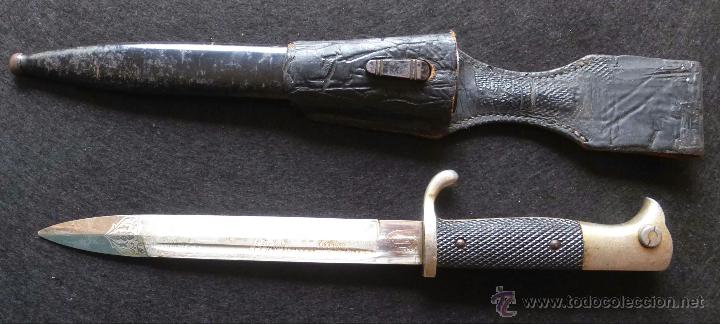 Militaria: Bayoneta alemana de representacion II Guerra Mundial - Foto 4 - 42966756