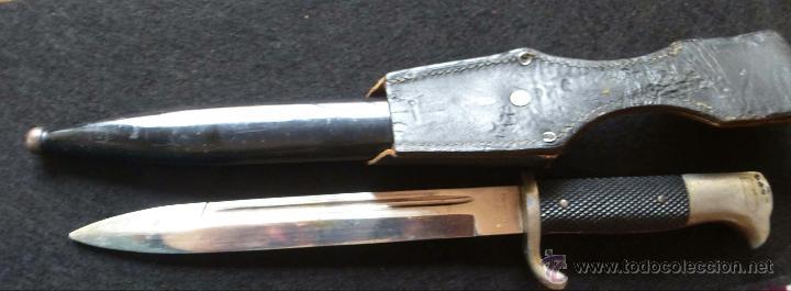 Militaria: Bayoneta alemana de representacion II Guerra Mundial - Foto 5 - 42966756