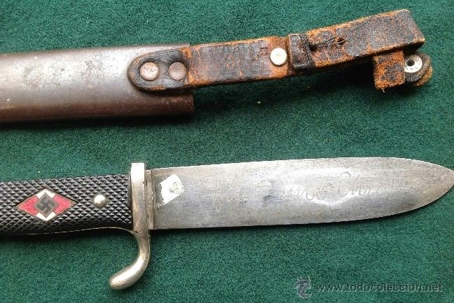Militaria: Cuchillo de las Juventudes Hitlerianas - Foto 3 - 155321473